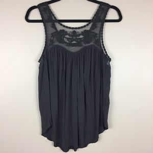 American Eagle Soft and Sexy Embroidered Tank M